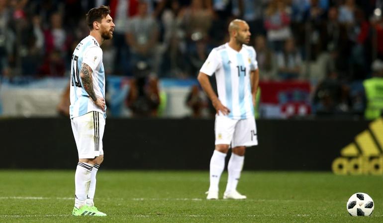En vivo Argentina Croacia online Mundial Rusia 2018: Desastre: Argentina cayó ante Croacia y quedó al borde de la eliminación