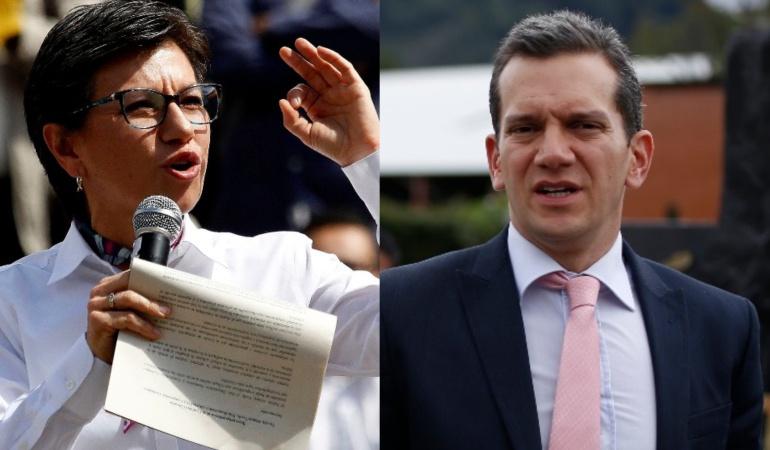 Pelea en el senado: Claudia López asegura que senador uribista la llamó hp