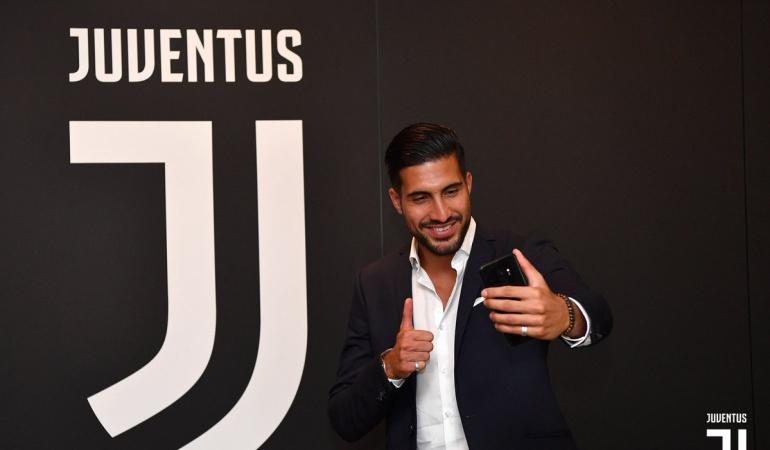 Juventus Emre Can: La Juventus oficializa el fichaje del alemán Emre Can