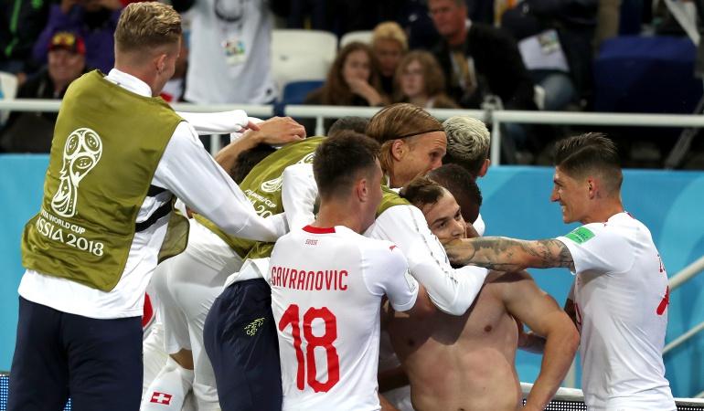 En vivo Serbia Suiza online Mundial 2018: Suiza consiguió tres puntos de oro en una agónica victoria ante Serbia