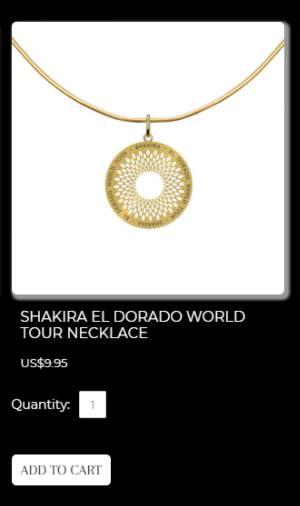 Collar nazi de Shakira: El símbolo nazi que está promocionando Shakira
