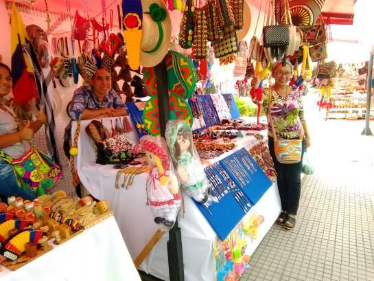 La Feria Artesanal abrió sus puertas