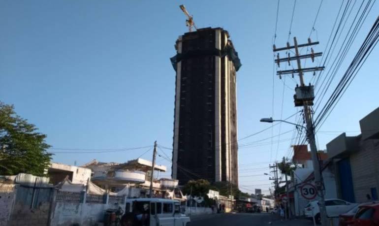 Viviendas de interés social: Procurador destacó concepto que pide demoler el edificio Aquarela