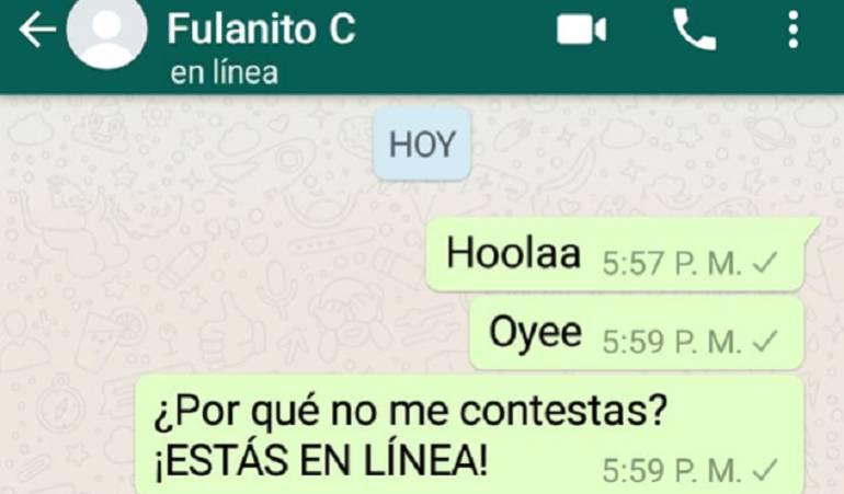 """WhatsApp: Conozca el truco para que sus contactos no lo vean """"en línea"""" en el chat"""