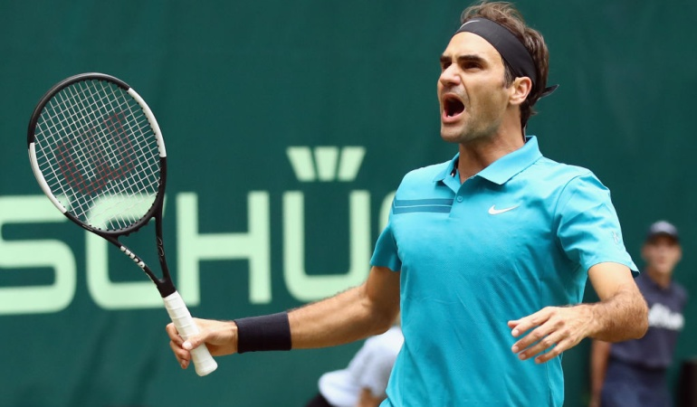 Federer ATP Halle: Federer salva dos bolas de partido para superar a Paire en ATP de Halle