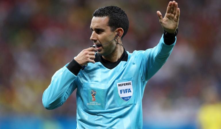 César Ramos árbitro COlombia Costa Rica: El mexicano César Ramos dirigirá el juego de Colombia ante Polonia