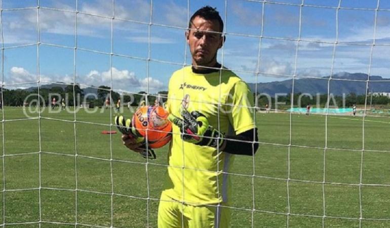 Luis Delgado portero Bucaramanga: Luis Delgado es nuevo portero del Atlético Bucaramanga
