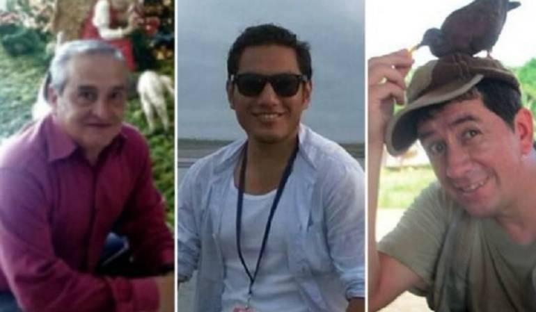 Periodistas secuestrados Ecuador