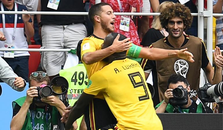 Bélgica 5-2 Túnez Mundial Rusia 2018: Bélgica aplastó a Túnez y quedó a un paso de los octavos de final