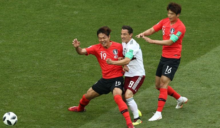 En vivo México Corea del Sur online Mundial 2018: México vence 2-1 a Corea del Sur y se acerca a la siguiente ronda