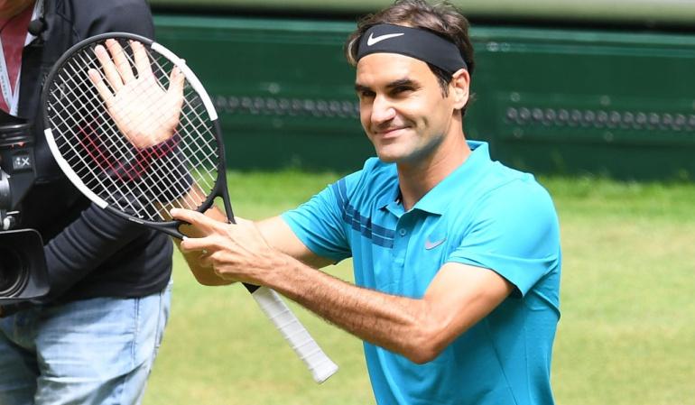 Roger Federer Final Halle: Federer clasifica a la final de Halle y apunta al título 99 de su carrera