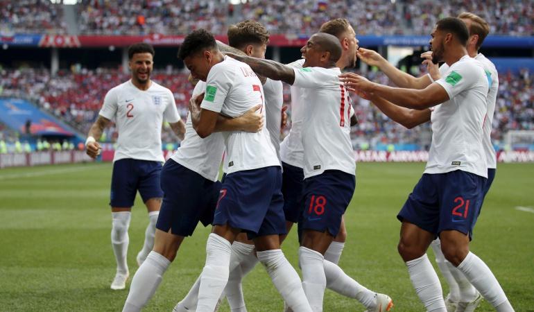 Inglaterra 6-1 Panamá online Mundial Rusia 2018: Con triplete de Kane, Inglaterra goleó a Panamá y clasificó a los octavos