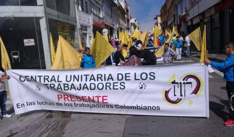 CUT denunció aumento de amenazas de muertes contra dirigentes sindicales