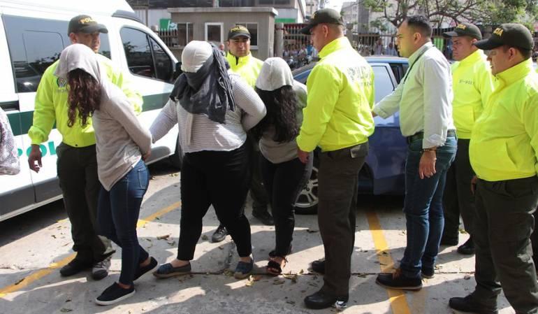 Imagen de la audiencia de imputación de cargos a implicados en compra de votos de la senadora electa Aida Merlano