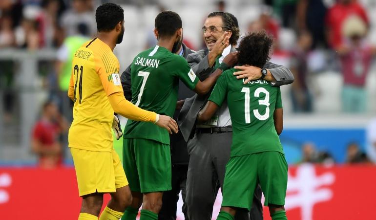 Egipto Vs Arabia En vivo: Arabia se despide del Mundial con una victoria en el último minuto