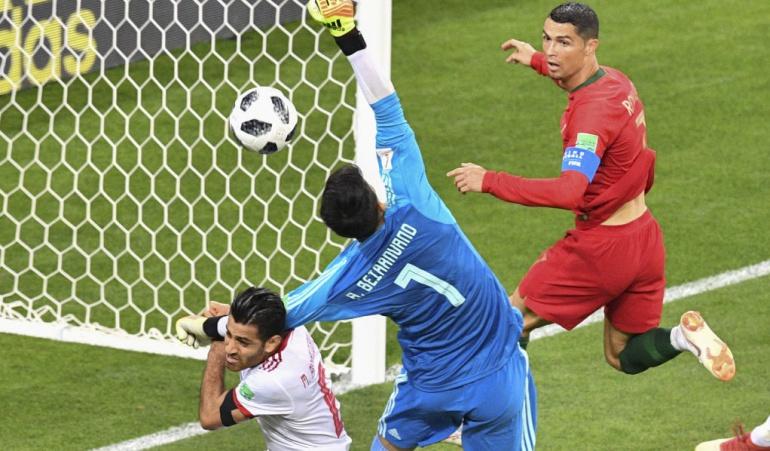 Irán 1-1 Portugal Mundial Rusia 2018: Portugal igualó con Irán y enfrentará a Uruguay en octavos de final