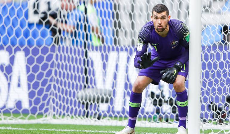 Mathew Ryan, portero selección Australiana de fútbol