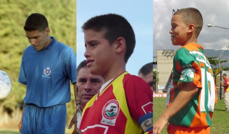 Falcao García, James Rodríguez y Juan Fernando Quintero.
