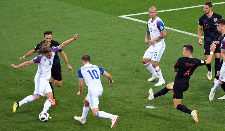 en vivo Islandia Croacia online Mundial Rusia 2018: Croacia le ganó a Islandia y terminó con puntaje perfecto en el Grupo D