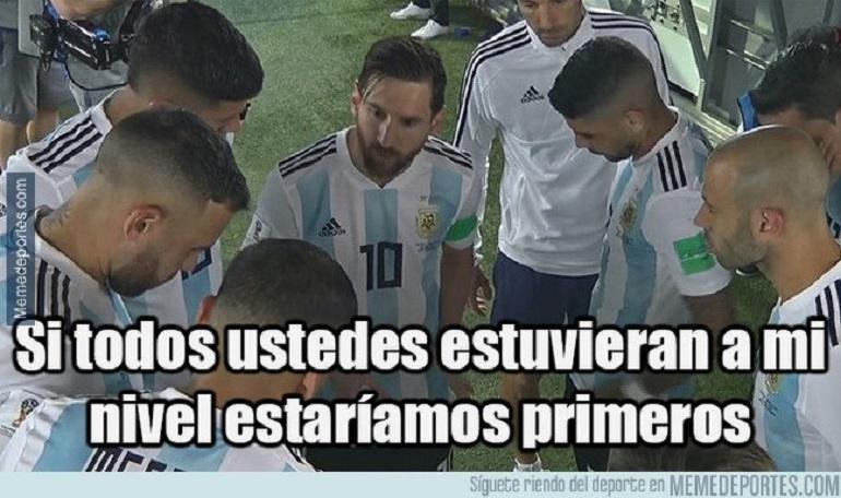 Memes Argentina Rusia 2018: Los memes que dejó la victoria de Argentina ante Nigeria