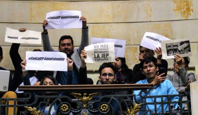 Proceso de paz: Aprobada ley de procedimiento de la JEP con modificaciones uribistas