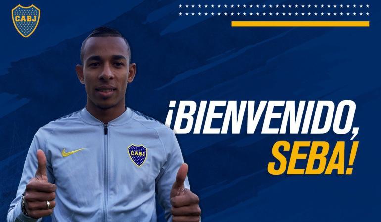 Sebastián Villa nuevo jugador Boca Juniors: Sebastián Villa, nuevo jugador de Boca Juniors