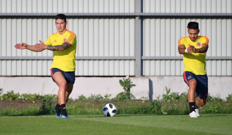 Mundial de Rusia 2018: Colombia realizó su última práctica antes del juego decisivo ante Senegal