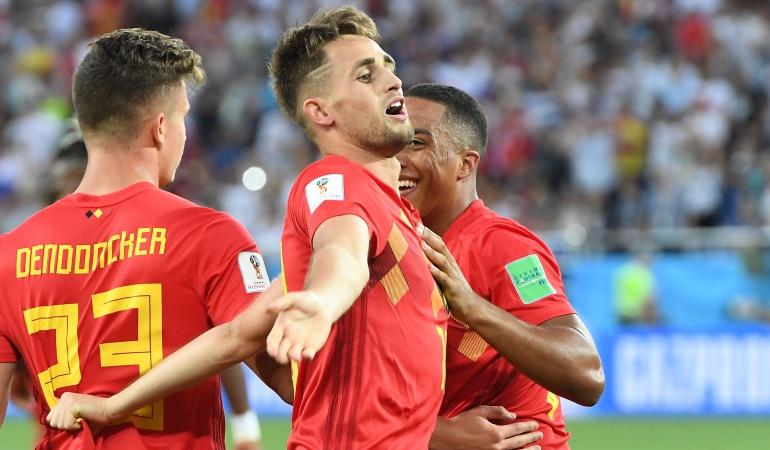 Bélgica Vs Inglaterrra: Bélgica derrota Inglaterra y jugará ante Japón en octavos