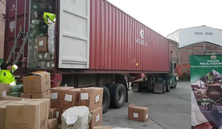 Contrabando: Desarticulan la principal red de contrabando del eje cafetero