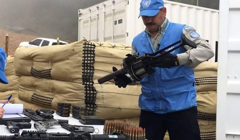 Proceso de paz: En julio estaría listo monumento con armas de las Farc en la ONU