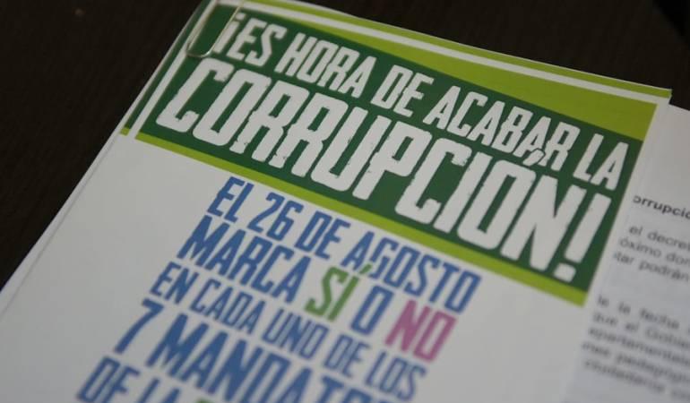 Consulta anticorrpución: Corjusticia inició campaña por la abstención en la consulta Anticorrupción