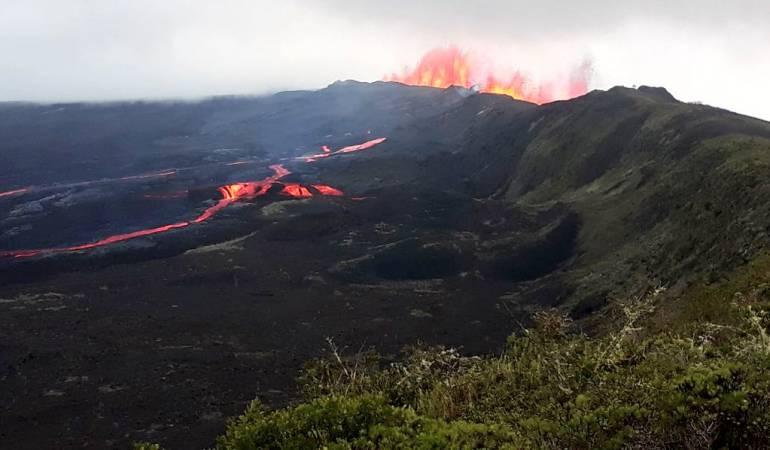 Erupción Volcánica: Descartan afectación a tortugas gigantes por erupción de volcán en Galápago