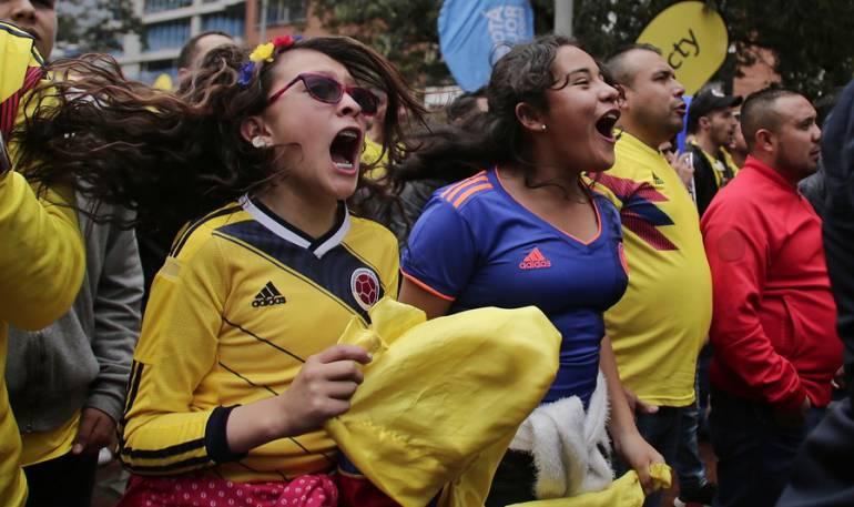 Colombia octavos de final: 6 heridos y más de 500 riñas deja celebración luego del partido de Colombia
