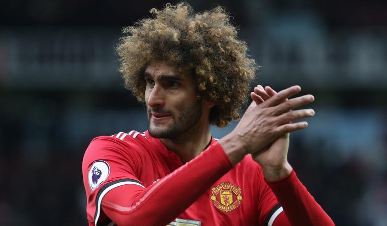 Marouane Fellaini renovación Manchester United: Marouane Fellaini renovó con el Manchester United por dos años