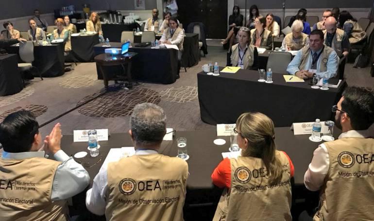 """Elecciones presidenciales México: Leonel Fernández: OEA ve """"con preocupación"""" violencia en elección de México"""