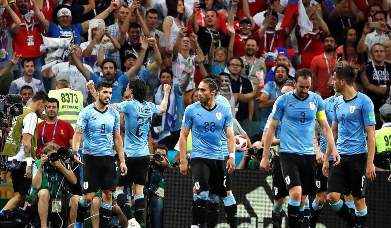 En vivo Uruguay Portugal online Mundial Rusia 2018: Con un Cavani imparable Uruguay avanza a los cuartos de final en Rusia
