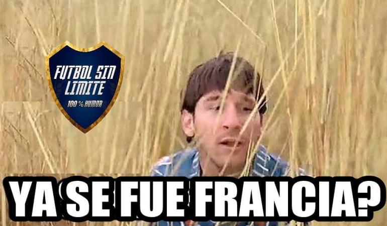 Francia 4-3 Argentina memes Mundial Rusia 2018: Los memes que dejó la derrota de Argentina ante Francia