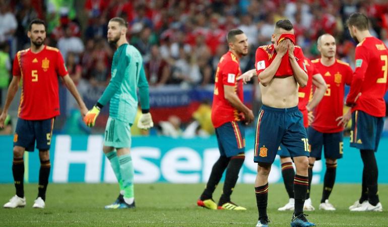 En vivo España Rusia online Mundial Rusia 2018: Rusia sorprende a España y se instala en cuartos de final