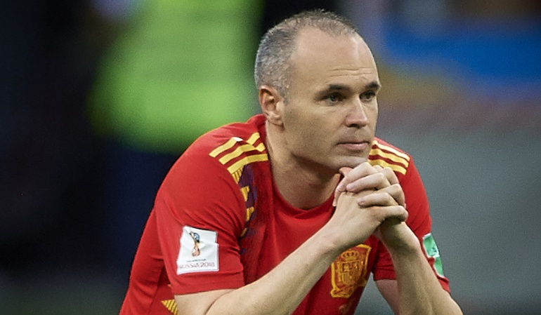 """Iniesta Mundial despedida España: Iniesta se despide de la selección: """"Hoy se acaba una etapa maravillosa"""""""