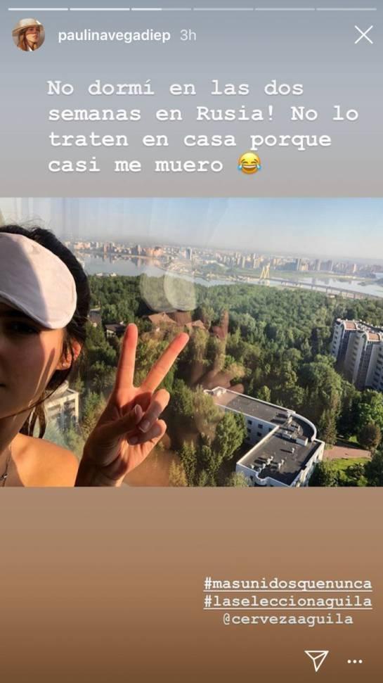 Salud de Paulina Vega: 'La fiebre' por la selección le pasó factura a Paulina Vega
