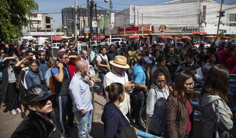 Jornada electoral México: Instituto Nacional Electoral de México, evacuado por conato incendio