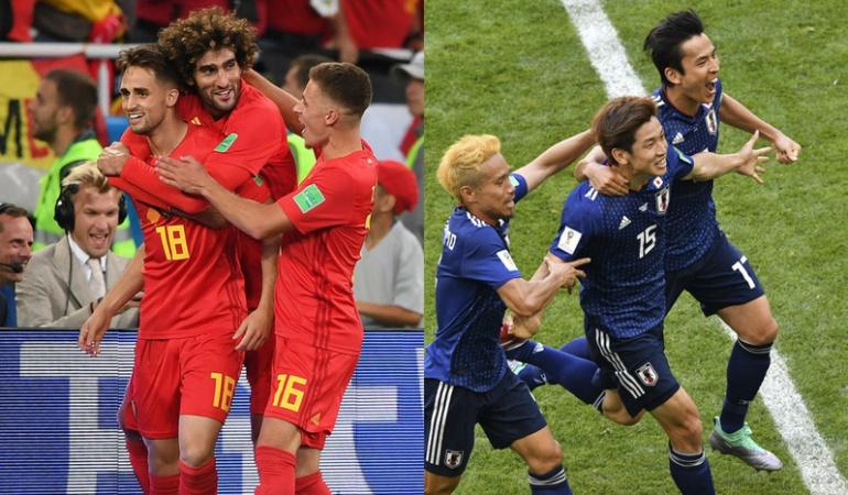 Bélgica derrota a Japón: Se enfrentará a Brasil en cuartos de final