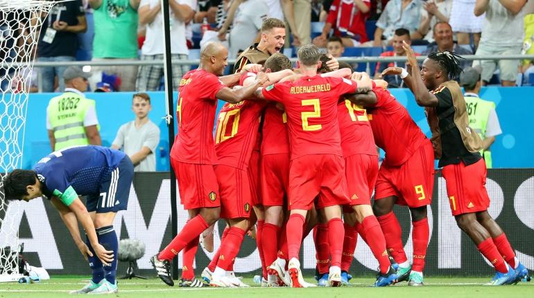En vivo Bélgica - Japón online: En un partido de infarto, Bélgica vence a Japón y avanza a los cuartos