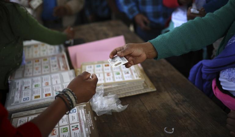 Sucesos jornada electoral: Protestas en centros de votación especiales en México