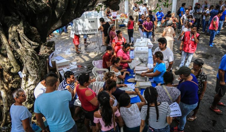 Cierre jornada electoral: Comienza el cierre de los puestos de votación en México