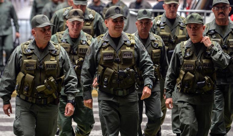 """Reconocimiento a militares: Gobierno de Venezuela ascendió a 16.900 militares por su """"lealtad"""""""