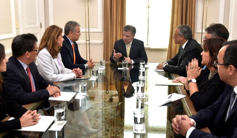 Empalme Santos - Duque: Paz y defensa han sido prioridad en el empalme