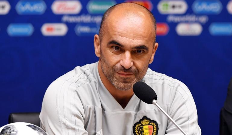 """Roberto Martínez Bélgica: Martínez: """"Brasil es favorito; eso nos coloca en un papel diferente"""""""