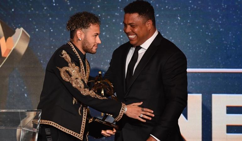 """Ronaldo y Neymar: Ronaldo: """"Neymar puede acabar con el reinado de Messi y Cristiano"""""""