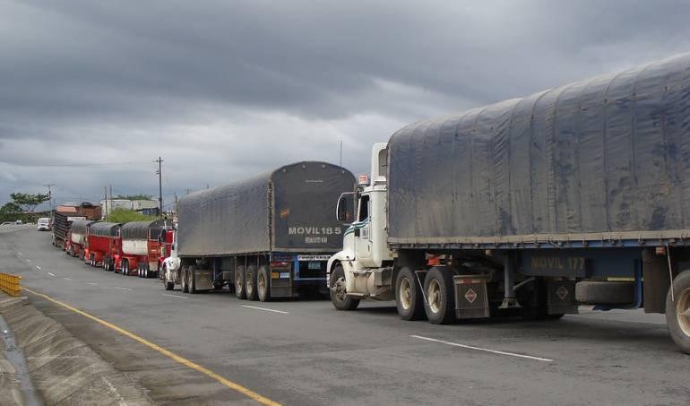 Transporte de carga: Empresarios del transporte de carga rechazan cobro de $4.800 por cada viaje
